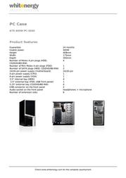 Whitenergy 06783 Leaflet