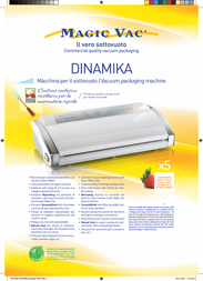 Magic Vac Dinamika VG02PK1 Leaflet