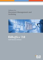 ELO Digital Office EloOffice 7.0 (PC) 9301-70-49 User Manual