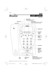 Binatone 433 User Manual
