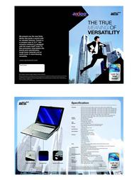 Axioo Zetta MLM 2022 MLM.2.022 Leaflet