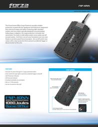 Forza Power Technologies FSP-10NN Leaflet