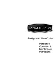 Rangemaster Refrigerated Wine Cooler User Manual