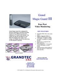 GrandTec Magic Guard III Leaflet