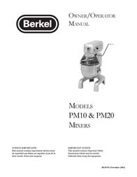 Berkel PM10 User Manual