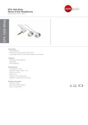 Wavemaster EPX 1009 71022 Leaflet