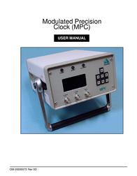 MPC OM-20000072 User Manual
