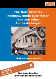 Bahco Sandflex Hacksaw Blade User Manual