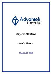 Advantek Networks ALN-328R User Manual
