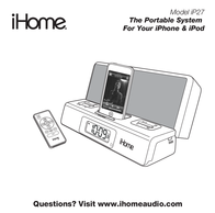SDI Technologies The Portable System For Your iPhone & iPod iP27 User Manual
