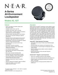Bogen A2 A2GRN User Manual