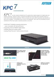 Flytech KPC7 Leaflet