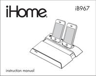 iHome IB967 User Manual