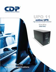 CDP UPO11-2 Manual Do Utilizador