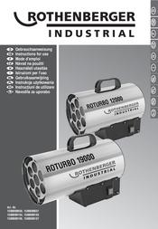 Rothenberger Industrial Heater 40 W RORURBO 1500000050 Data Sheet
