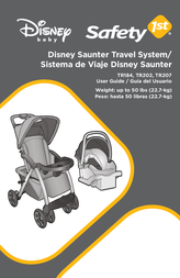 Safety 1st Disney Saunter Luxe Travel System TR266BBJX User Manual