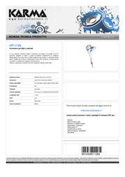Karma Italiana HP 1128 Leaflet