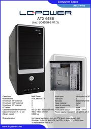 LC-Power 648B Leaflet