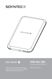 Soyntec HDD BOX 250 77710 User Manual