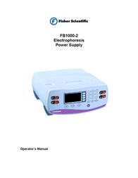 Fisher FB1000-2 User Manual