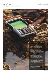 Psion Ikon IKON111212123100 User Manual