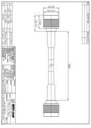 WiFi-Link LLC 400 N male to N male 1m 560104GLLC-400-1 Leaflet