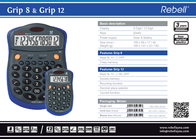 Rebell Grip 8/Grip 12 RE-GRIP 8AND12 Leaflet