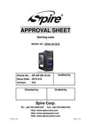 X2 X2-6011B-CE/R User Manual