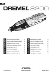 Dremel 8200-2/45 F013 8200 JD Data Sheet