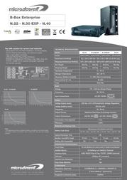 Microdowell Enterprise N.22 2200VA P001900A Leaflet