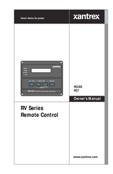 Xantrex RC/GS RC7 User Manual