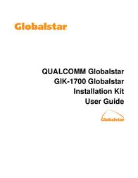 Qualcomm GLOBALSTAR GIK-1700 User Manual