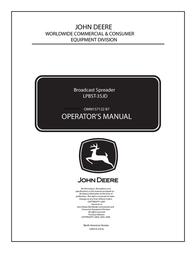 John Deere LPBST-35JD User Manual