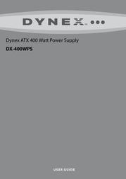 Dynex DX-400WPS User Manual