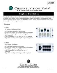 Channel Vision C-0432 Leaflet