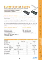 OPTI-UPS SBGL-600 Leaflet