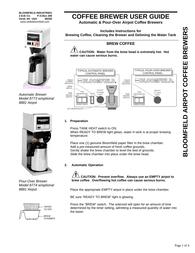 BLOOMFIELD 8773 User Manual