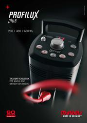 Multiblitz Profilux Plus 400 PROPLUS-4 사용자 설명서