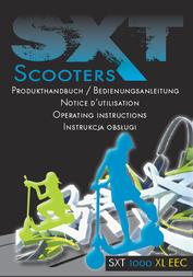Sxt Scooters SXT1000XLEEC SCOOTER LITHIUMAKKU 48V20AH 78019-ESC1000XLEEC.2 Data Sheet