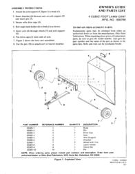 Snapper 1690766 Leaflet