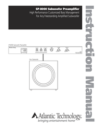 Atlantic Technology SP-8000 User Manual