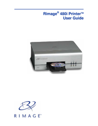 Rimage 480i User Manual