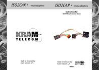 KRAM ISO2CAR Mute-Adapter Jaguar X/S 86133 Leaflet