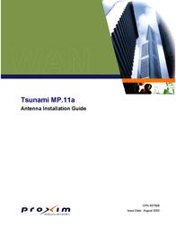 Proxim TSUNAMI CPN 65756B User Manual