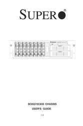 Supermicro CSE-833T-R760B  3U 760W 8x CSE-833T-R760/B User Manual