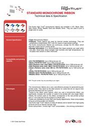 Evolis RCT015NAA Leaflet