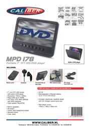 Caliber MPD178 Leaflet