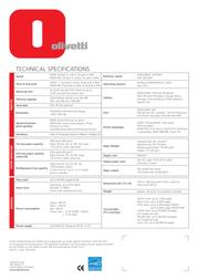 Olivetti d-Color P20W B9452000 User Manual