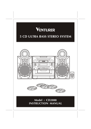 Venturer CD2088 User Manual
