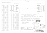 Sandberg SCSI Cable HPDB68M-HPDB68M 1 m 500-87 Leaflet